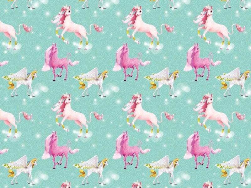 bw jersey mia and me unicorn kotex jerseymutti stoffe online kaufen